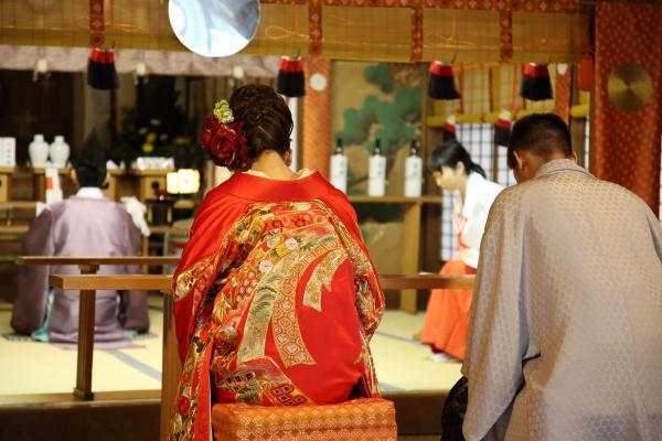 【【日式神社婚禮】最正統日本神前結婚式(情侶雙人平日價)