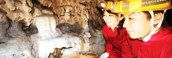 【【沖繩特色體驗】夏季限定!沖繩玉泉洞未公開路線洞窟探險