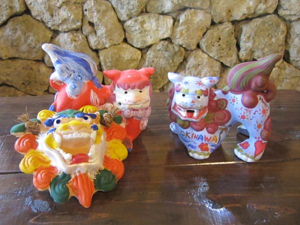 【【沖繩特色體驗】沖繩文化王國傳統陶藝:素燒風獅爺著色