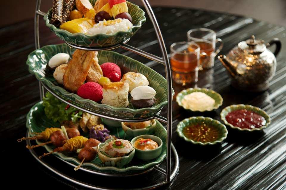 【曼谷五星級君悅飯店】Erawan Tea Room 經典下午茶