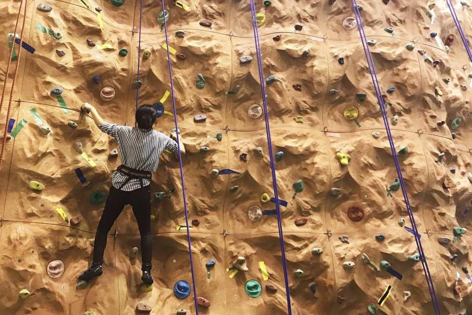 室內攀岩體驗