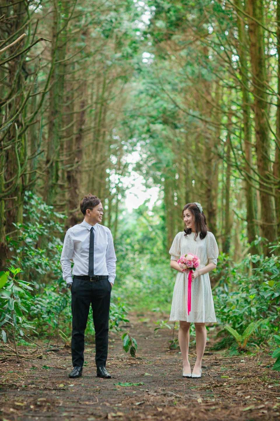 濟州島情侶戶外婚紗外拍