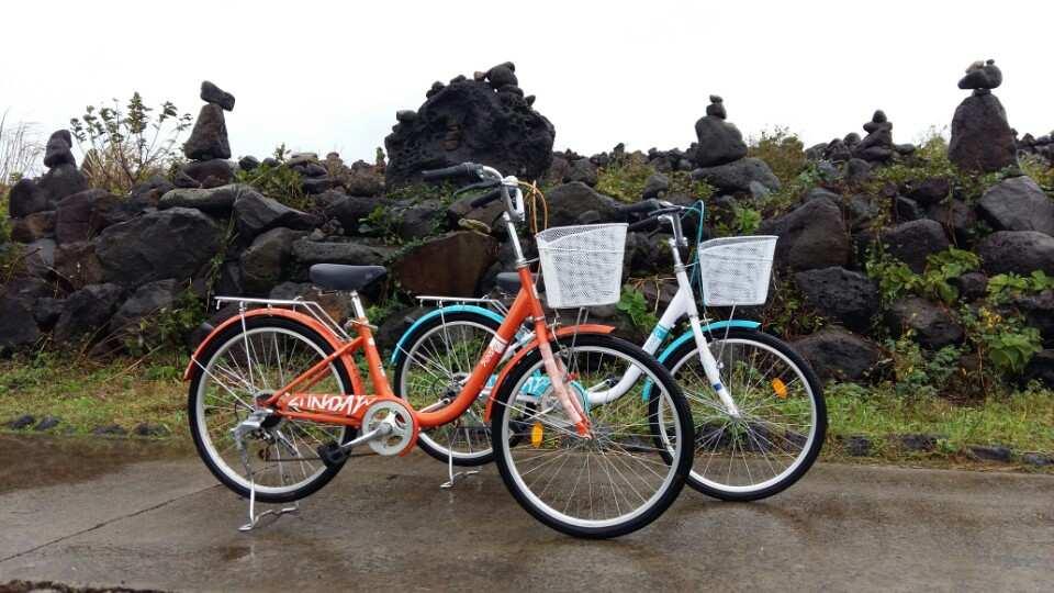 【騎鐵馬遊牛島】自行車租借