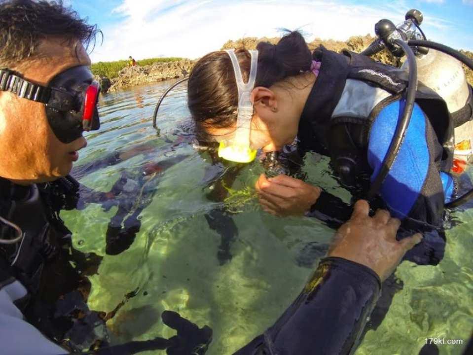 【台湾・墾丁】美しいサンゴの海でスキューバダイビング体験!
