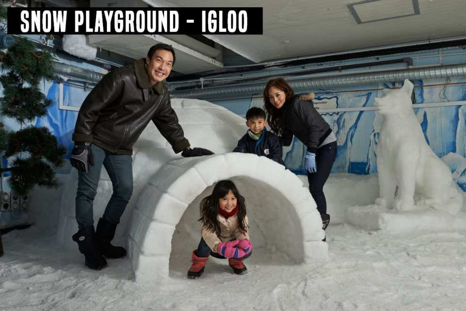 【熱帶國家的冰雪體驗】新加坡雪城 Snow City 門票