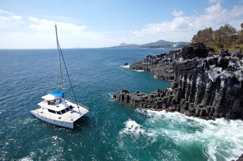 濟州島西歸浦豪華遊艇之旅