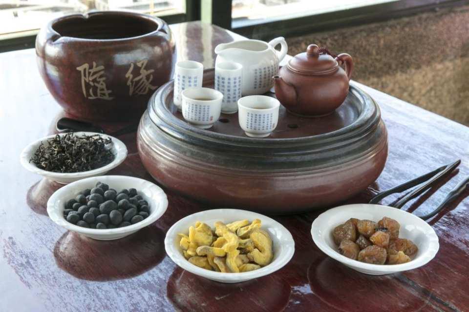 【九份茶旅】九份山海最佳視角—海悅樓景觀茶坊:東方美人茶 招牌茶點套餐
