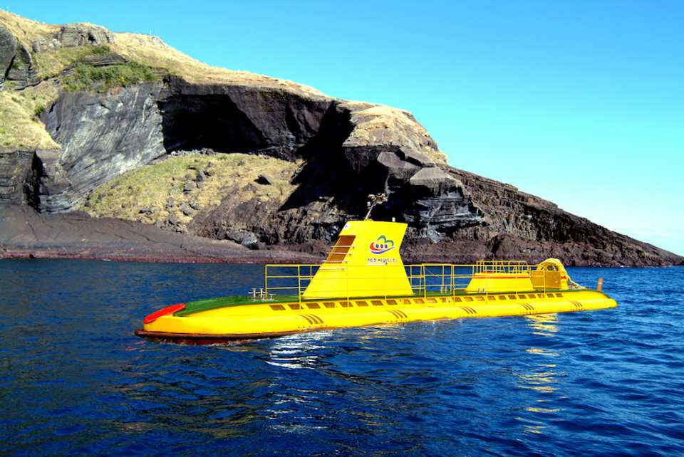 跟著「超人回來了」,體驗韓國濟州島牛島潛水艇