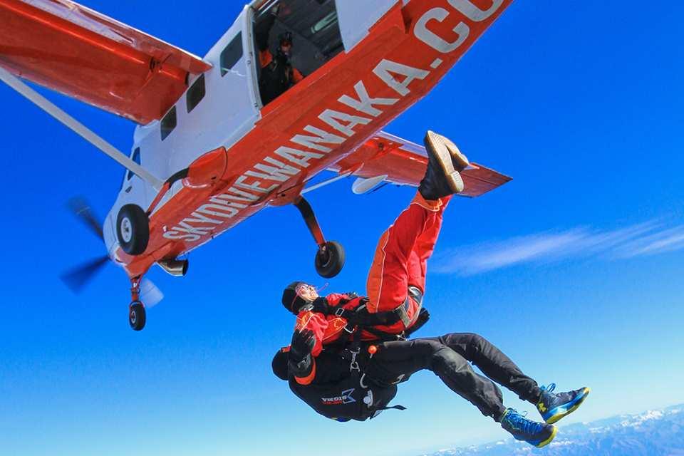 【紐西蘭高空跳傘】瓦納卡湖跳傘(瓦納卡 / 皇后鎮出發)