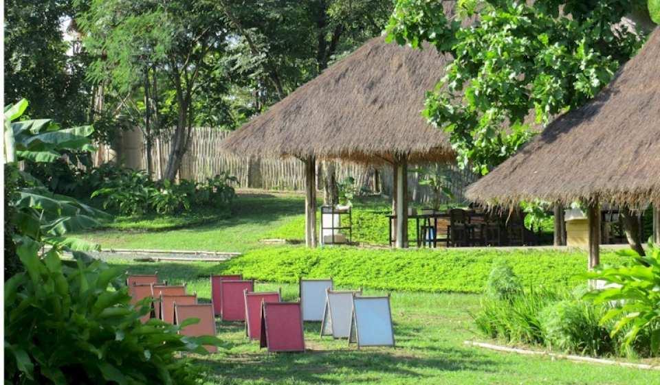 【清邁友善大象體驗】大象保護園區、大象便便環保紙公園