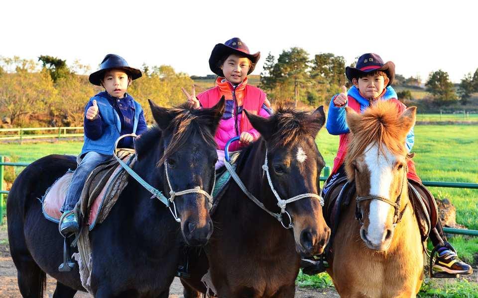 【濟州玩樂新天地】迷你馬之城 騎馬體驗券 / 卡丁車體驗券