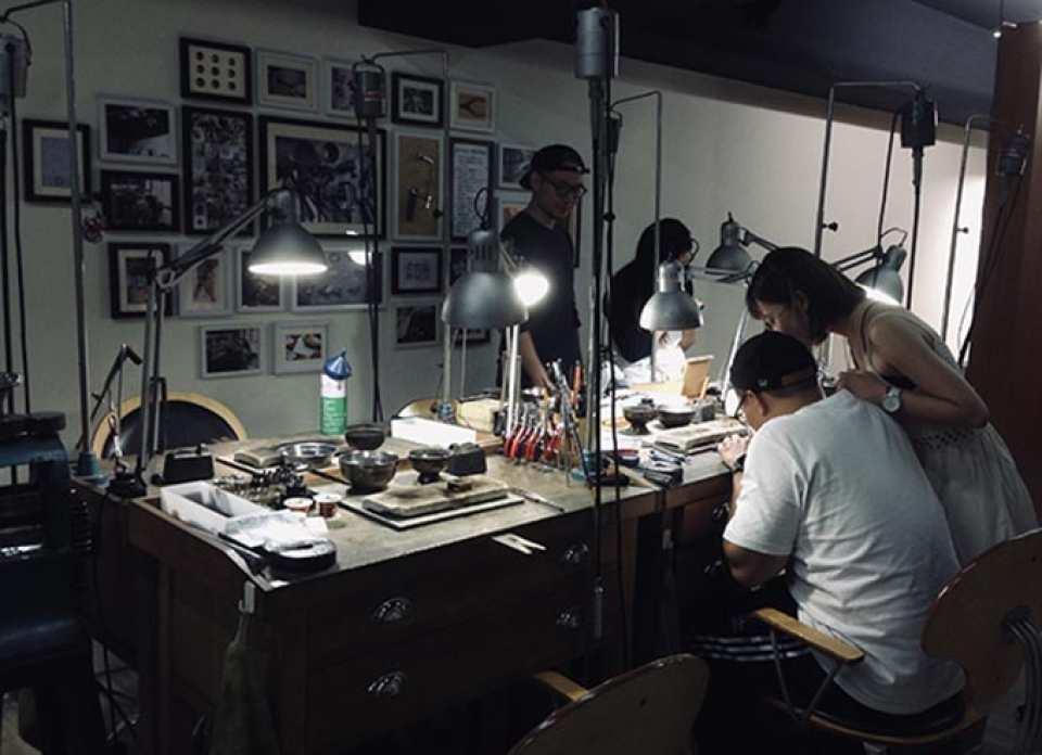 【台灣在地六四設計品牌】圓弧設計銀戒手作體驗