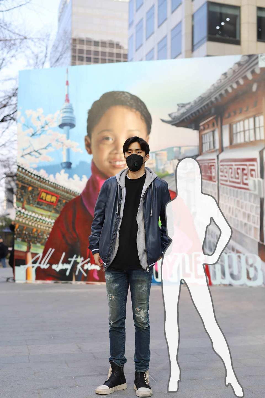 【韓國首爾街拍】與韓國模特兒歐巴拍攝街拍體驗
