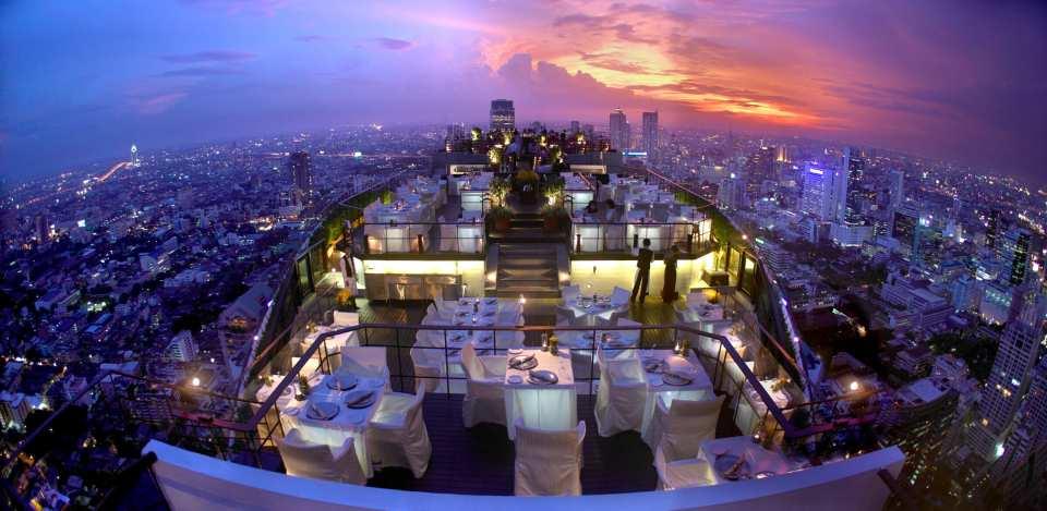 【曼谷高空夜景餐廳】悅榕莊 Vertigo 晚餐套餐