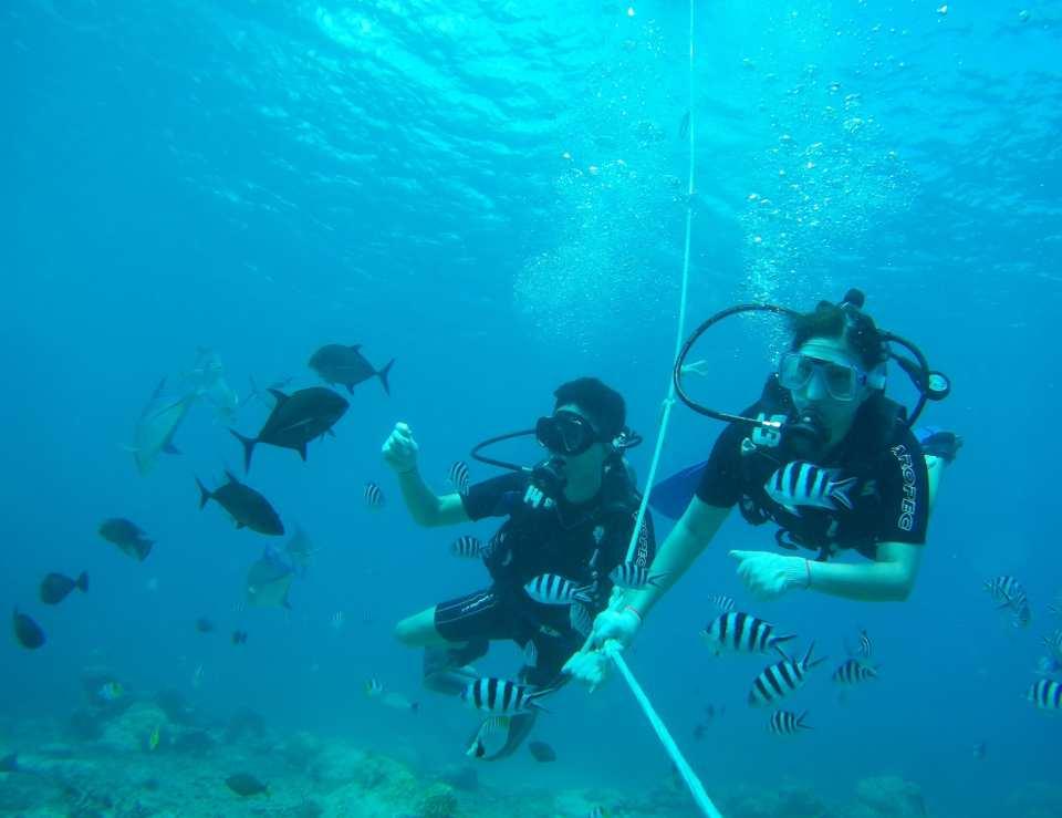 【關島海陸空優惠組合】免執照潛水體驗、高空滑索、東北部秘境自駕越野車(含酒店接送、午餐)