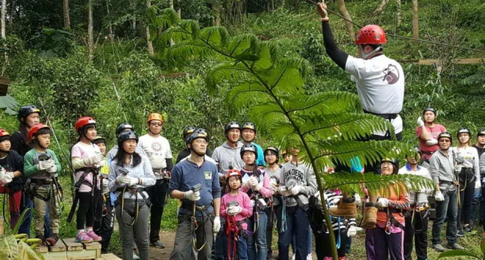 【花蓮戶外運動】野猴子 樹冠層探險 (叢林飛躍)