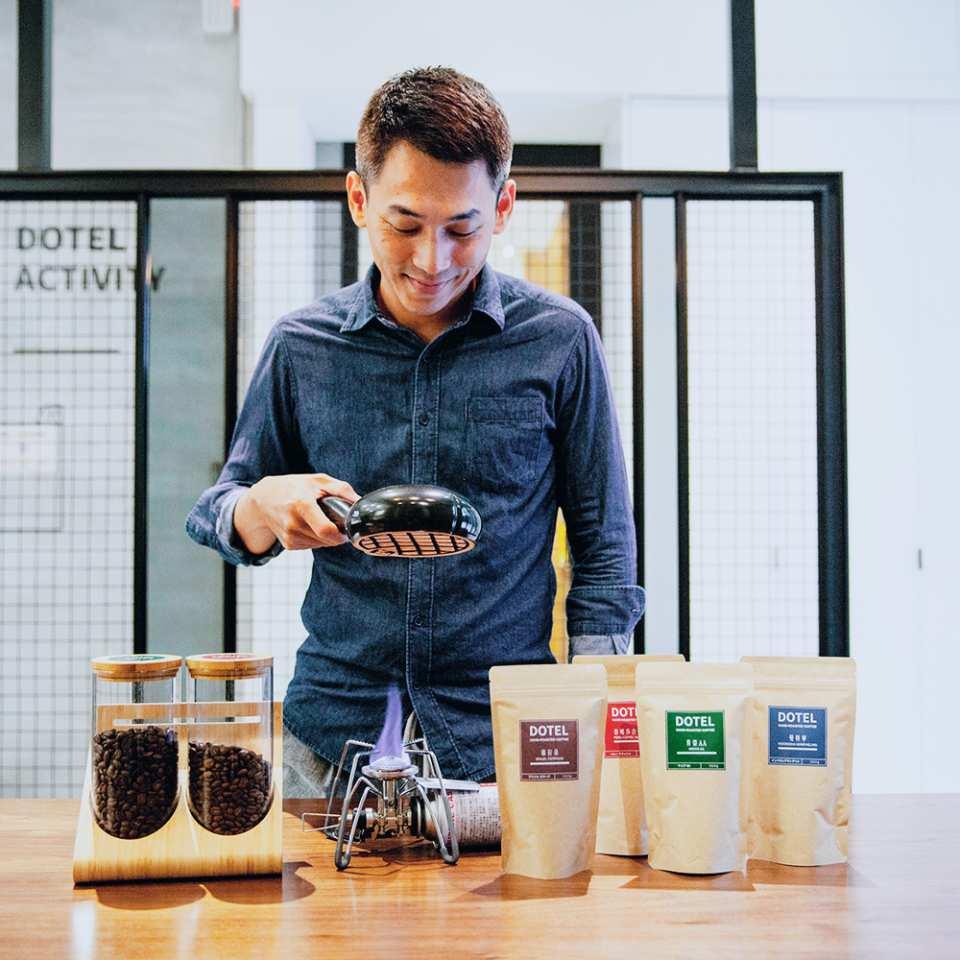 【西門町咖啡體驗】手烘咖啡豆體驗教學+現烘咖啡品嘗(可帶走紀念咖啡豆二包)