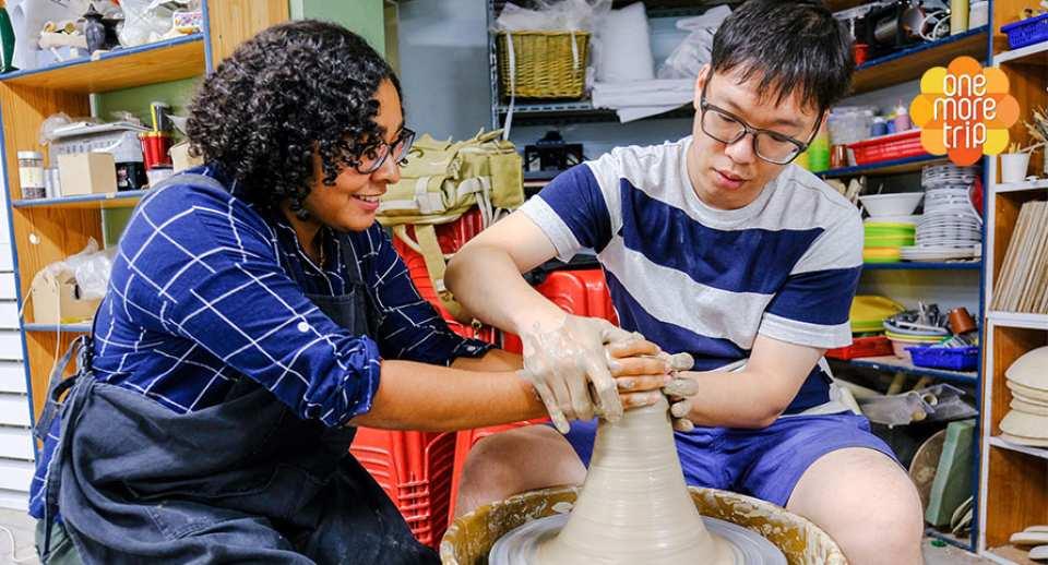 【韓國手工藝體驗】ZINO陶藝工坊 陶瓷笛子製作課程
