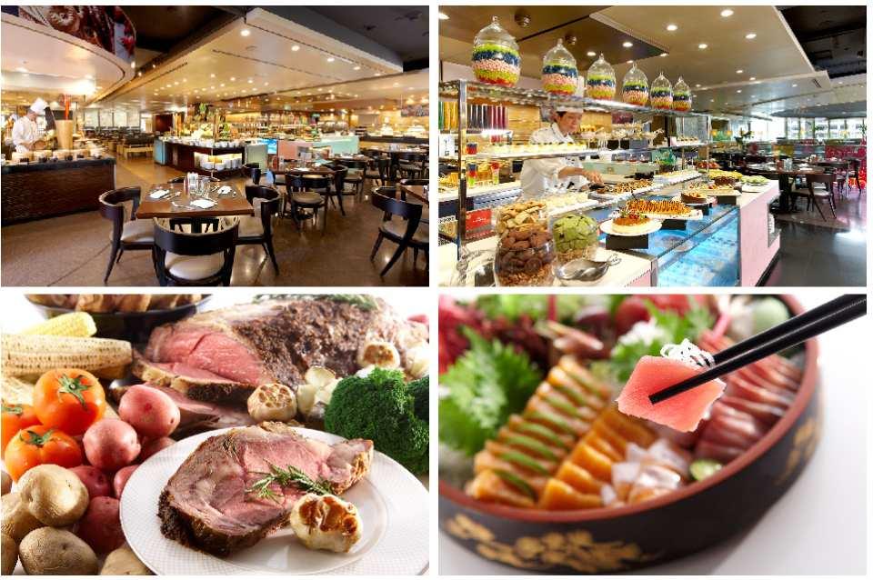 台北遠東大飯店-遠東Café餐券(需電話預約)