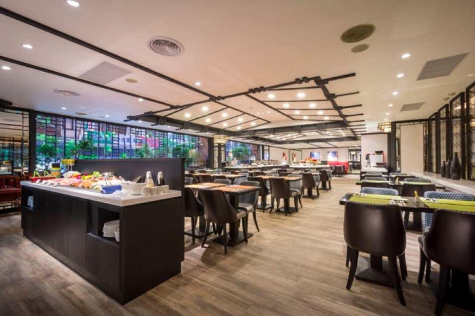 台北馥敦飯店南京館-日安西餐廳 La Chinoiserie Cafe 雙人吃到飽餐券(需電話預約)