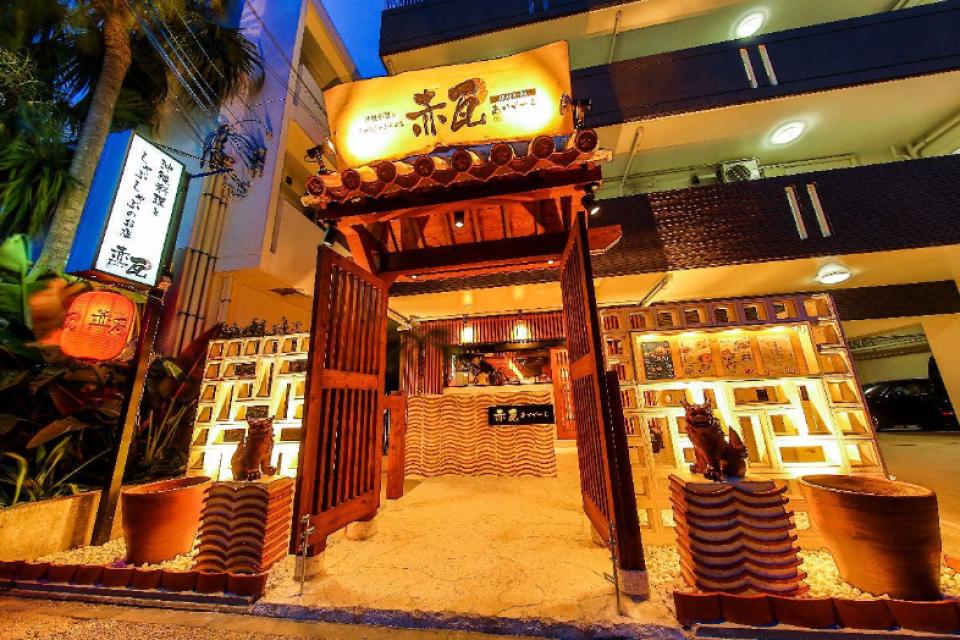 【沖繩美食】沖縄 涮涮鍋 沖縄料理としゃぶしゃぶのお店 赤瓦(あかがーら)
