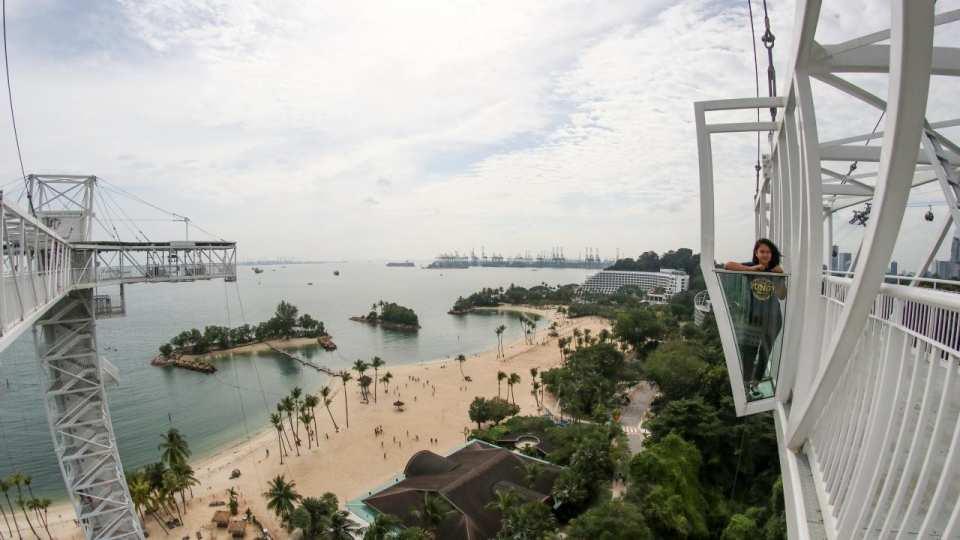 【聖淘沙新玩法】新加坡 AJ Hackett 空中天橋