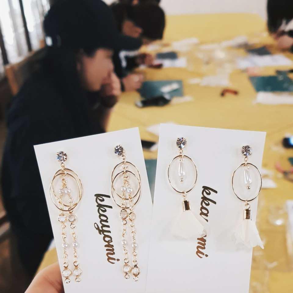 【首爾手工藝體驗】kkayomi studio 飾品製作課程
