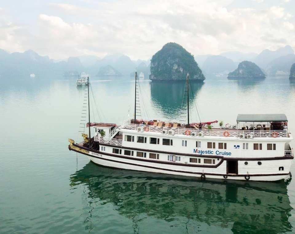 【越南郵輪巡遊】三星級 Majestic Cruise 下龍灣兩天一夜