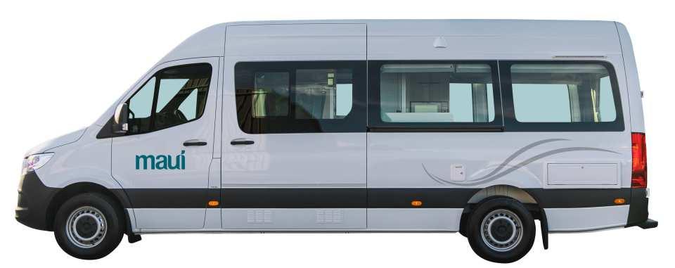 【紐西蘭租車】MAUI 兩人座至尊型露營車(基督城取 / 基督城還)