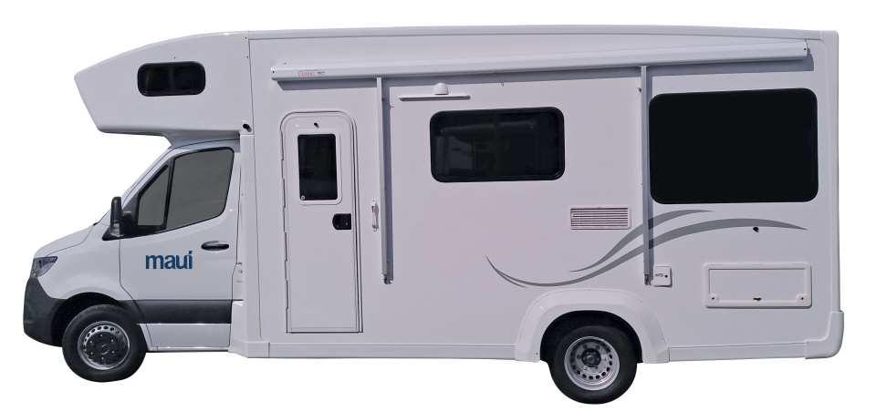 【紐西蘭租車】MAUI 六人座河畔型露營車(基督城取 / 基督城還)
