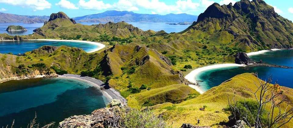 【科莫多島跳島一日遊】帕達爾島、科莫多島、粉紅沙灘、月牙灣、Manta Point、Kanawa 島