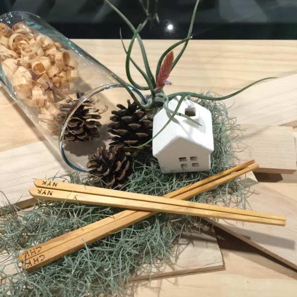 【木匠兄妹手作體驗】親手製作屬於自己的檜木筷子
