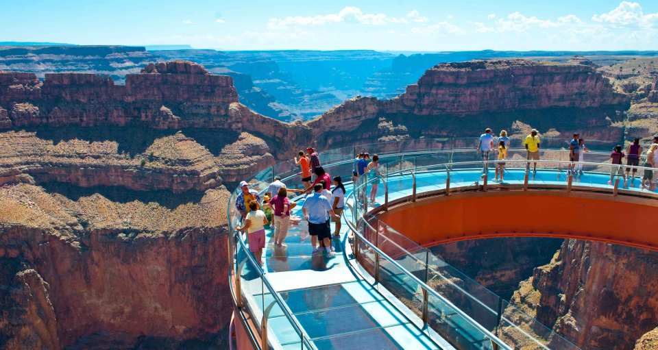 Day Tour From Las Vegas Grand Canyon West Rim Hoover Dam