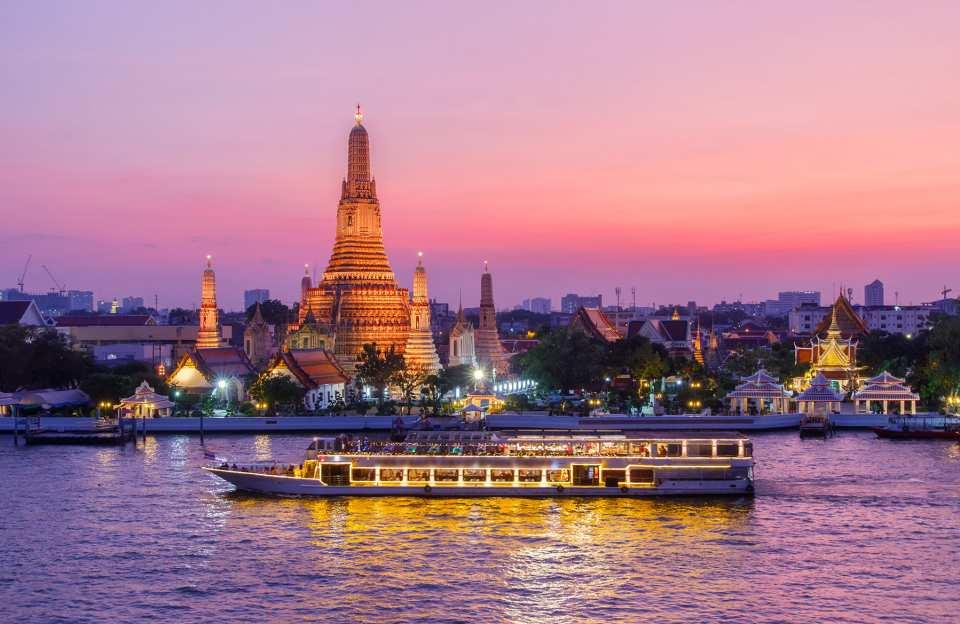 kkday行程推薦 泰國景點規劃全攻略  昭披耶河公主號